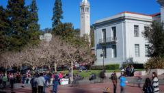 People UC Berkeley Time-Lapse 4K Stock Footage