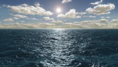 Flight Over The Ocean, HD Stock Footage