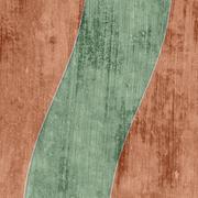 grunge background with overlap - stock illustration