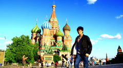 Saint Basil's Cathedral Stock Footage