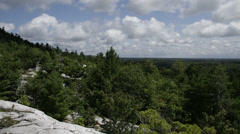 Time Lapse Killarney Provincial Park, Ontario Canada Stock Footage