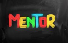 Mentor concept Stock Illustration