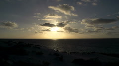 Coral bay Sunset , Western Australia Stock Footage