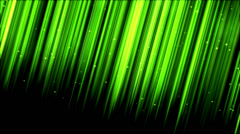 Colorful Light Rays - Loop, Lime Green Stock Footage
