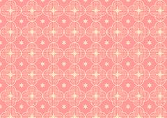 cherry blossoms or sakura pattern on pastel color - stock illustration