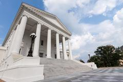 Stock Photo of Virginia State Capitol Building, Richmond