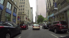 GoPro Montreal Downtown Stock Footage