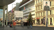 Stock Video Footage of 151 Berlin, Checkpoint Charlie