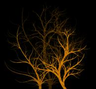 Stock Illustration of spooky trees