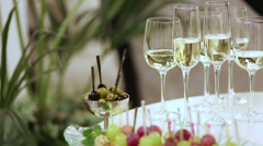 Champagne Stock Footage
