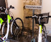 service bicycles - stock photo