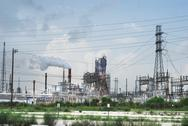 Stock Photo of oil refinery