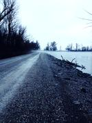 Stock Photo of creepy road