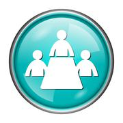 Meeting room icon Stock Illustration