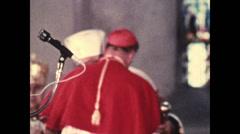 1958 - 1963 - Jossyf Cardinal Slipyj 02 - stock footage