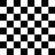checkerboard seamless pattern black and white - stock illustration