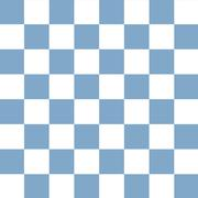 checkerboard seamless pattern blue and white - stock illustration