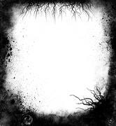 Stock Illustration of black grunge frame