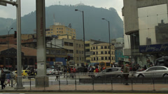 Evening Rush hour Bogota Colombia 1043 Stock Footage