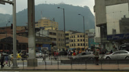 Stock Video Footage of Evening Rush hour Bogota Colombia 1043