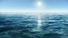 Ocean wave water 3D 720p Stock Footage