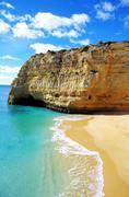Benagil  beach, algarve, portugal Stock Photos