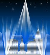 Metropolis Stock Illustration