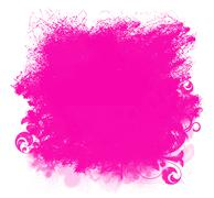 Stock Illustration of pink grunge paint smear background