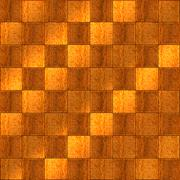 inlaid wood checkerboard floor seamless - stock illustration
