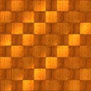 Inlaid wood checkerboard floor seamless Stock Illustration