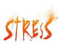 stress - stock illustration
