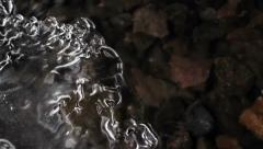 Abstract figure ice Stock Footage