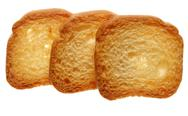 Stock Photo of rusks bread loaf toast biscuits, diet food