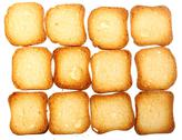 Stock Photo of rusks bread toast biscuits, diet food background