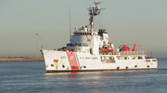 USCGC Steadfast (WMEC-623) - stock footage