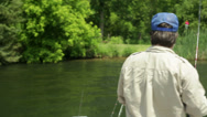 Stock Video Footage of Father and son fishing