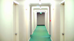 Hospital Hallway Of Horror Stock Footage