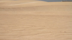 The sand dune Stock Footage