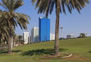 Stock Photo of sharjah - general view