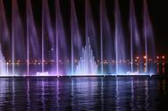 Stock Photo of musical fountain show in sharjah