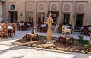Stock Photo of arabic patio