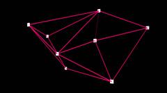 Triangulation + Alpha Channel Stock Footage