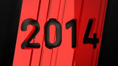 Year 2014 (HD) Stock Footage