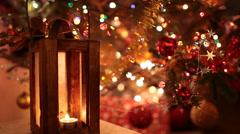 Magic christmas lights Stock Footage