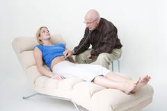 biodynamic psychotherapy - stock photo