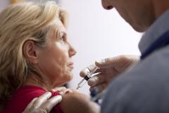 Influenza vaccine Stock Photos