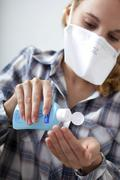 infection prevention - stock photo