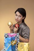 weary woman - stock photo