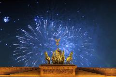 Brandenburg Gate, berlin - stock photo