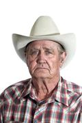 Wise Old Cowboy Stock Photos